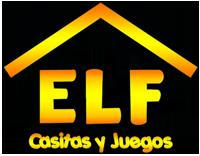 Elf Casitas y Juegos Logo